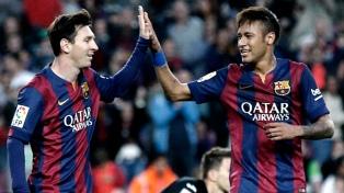 """Neymar le dio la bienvenida a Messi: """"De nuevo juntos"""""""