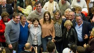 """Vidal pidió a los bonaerenses seguir apostando al """"cambio"""""""