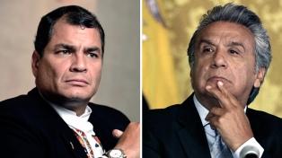 Una consulta popular divide aguas entre Lenín Moreno y Rafael Correa