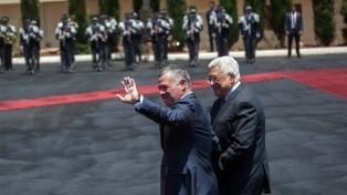 El rey jordano se reunió con Mahmud Abbas para enviar un mensaje a Israel
