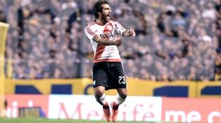 """Ponzio: """"Queremos levantar el rendimiento para llegar bien al partido con Boca"""""""