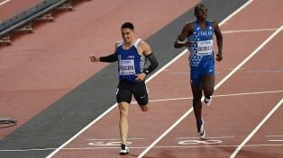 Ruggeri fue descalificado en la semifinal de 400 metros con vallas del Mundial