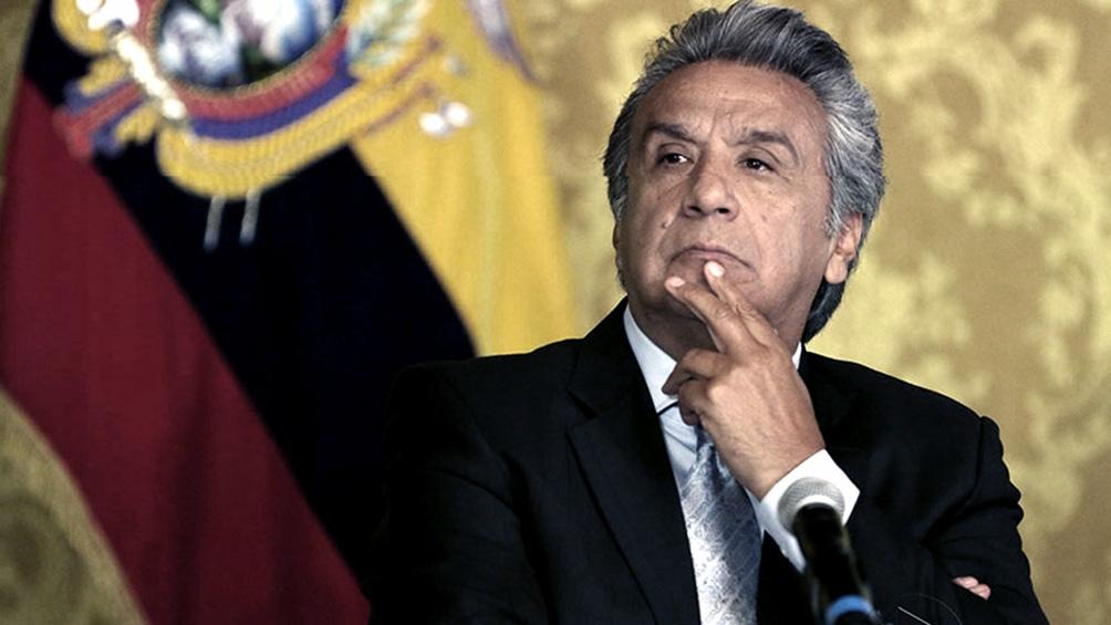 Lenín Moreno fue denunciado por presuntos delitos de lesa humanidad