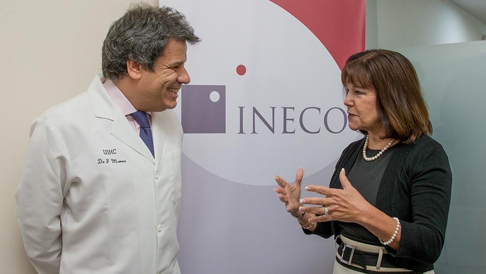 """""""Las ciencias de datos han revolucionado muchos campos y era una cuestión de tiempo para que su aplicación llegara al área de la salud"""", dijo Manes, director de la INECO."""