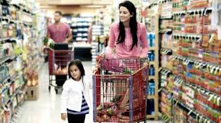 Las ventas en supermercados bajaron 1,3% en octubre y sumaron 16 caídas consecutivas