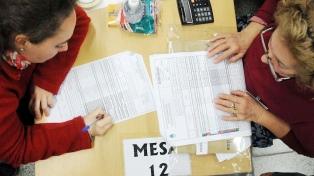 Empieza el escrutinio definitivo de las elecciones bonaerenses y durará unos 20 días