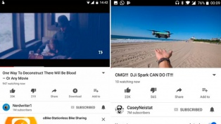 YouTube prueba la visualización en vivo