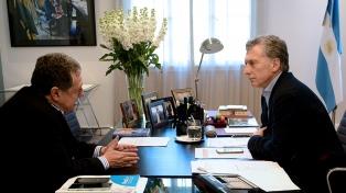 Macri recibió a Ramón Puerta para conversar sobre el acuerdo Mercosur-Unión Europea