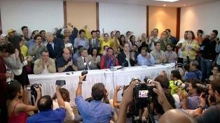 La MUD confirmó su abstención en las elecciones presidenciales