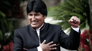 Evo Morales confía en que la economía crecerá más de 4,5 por ciento