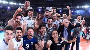 Voley: Argentina campeón del mundo Sub 23 en Egipto