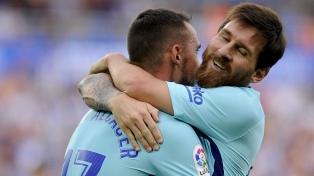 Messi, el artífice de la victoria del Barcelona frente al Alavés
