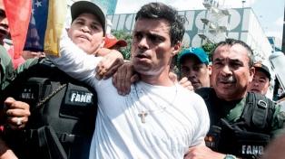 Maduro anunció que pedirá a España la extradición de Leopoldo López