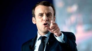 Macron acusó a Qatar y a Arabia Saudita de financiar al terrorismo