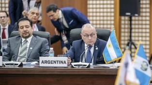 """Faurie: """"La Argentina cree necesario reafirmar su voluntad de apertura y de integración con el mundo"""""""