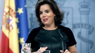 La ex vicepresidenta del gobierno español dijo que hubo rebelión en Cataluña