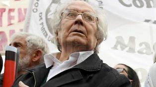 Pérez Esquivel rechazó la visita de Netanyahu a la Argentina