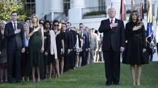 """En el aniversario del 11S, Trump advierte que EEUU """"no puede ser intimidado"""""""