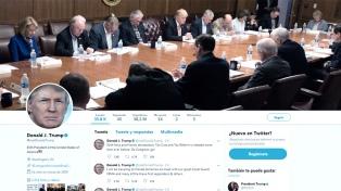 Twitter y Facebook suspenden temporalmente las cuentas de Trump tras los disturbios