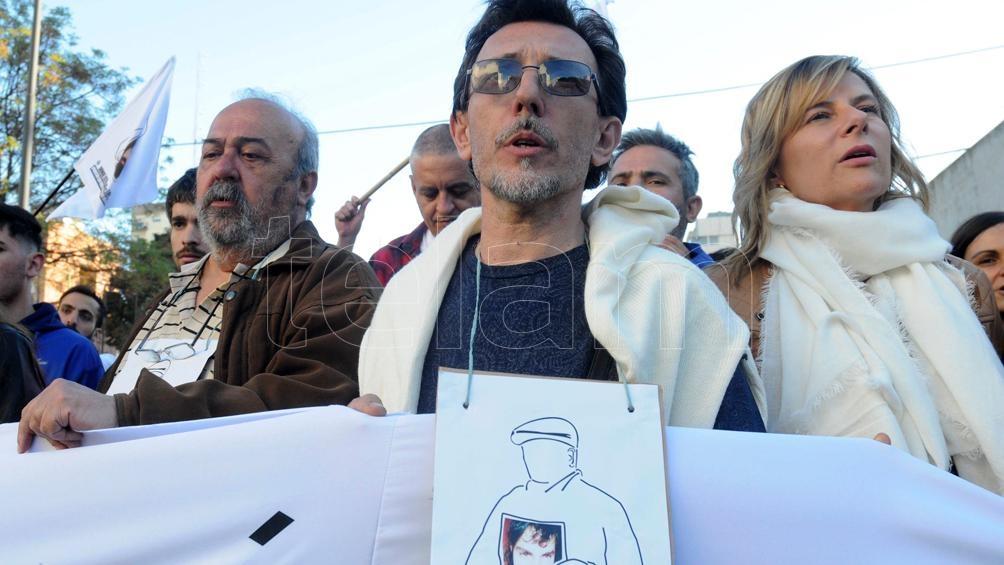 Rubén López nunca dejó de reclamar que se investigue qué pasó con su padre.