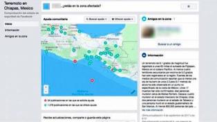 Google y Facebook ayudan a buscar personas en México