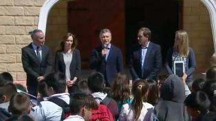 """Macri: """"Los argentinos somos parte de la solución y no del problema"""""""