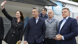 """Macri: """"Merecemos vivir mejor, lo vamos a lograr trabajando en equipo"""""""