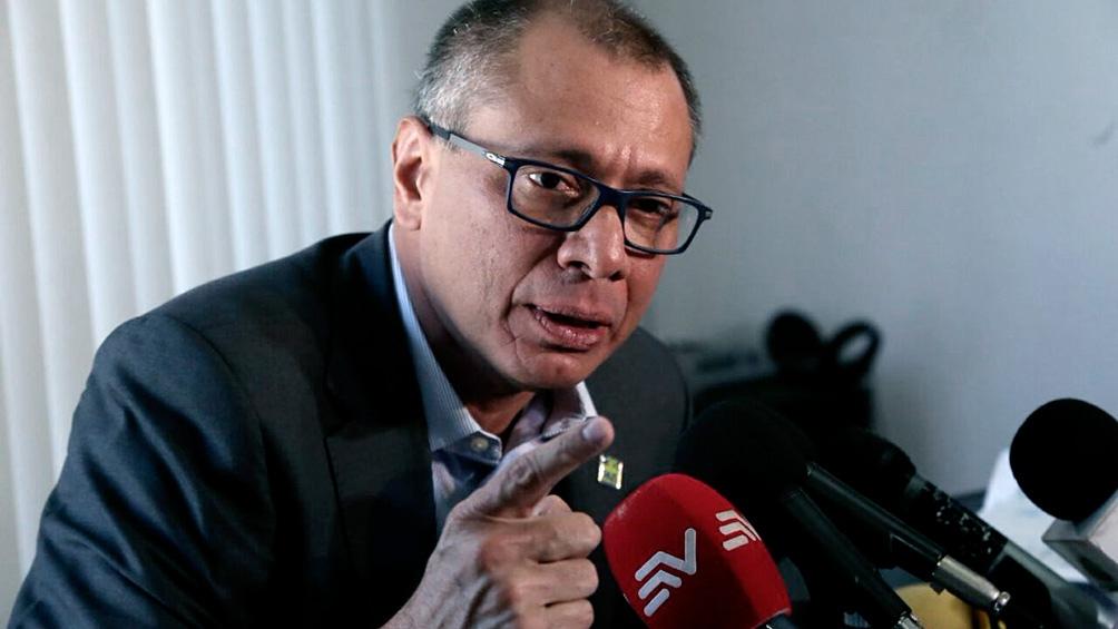 Otra condena de ocho años para Jorge Glas, exvicepresidente de Ecuador