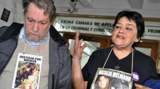 """A 20 años del crimen de Natalia Melmann, su familia pide """"Memoria, Verdad y Justicia"""""""