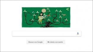 Google recuerda a Violeta Parra con un doodle