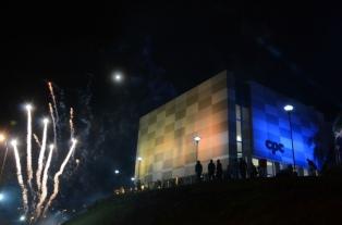 Bordet y Varisco inauguraron el Centro de Convenciones de Paraná
