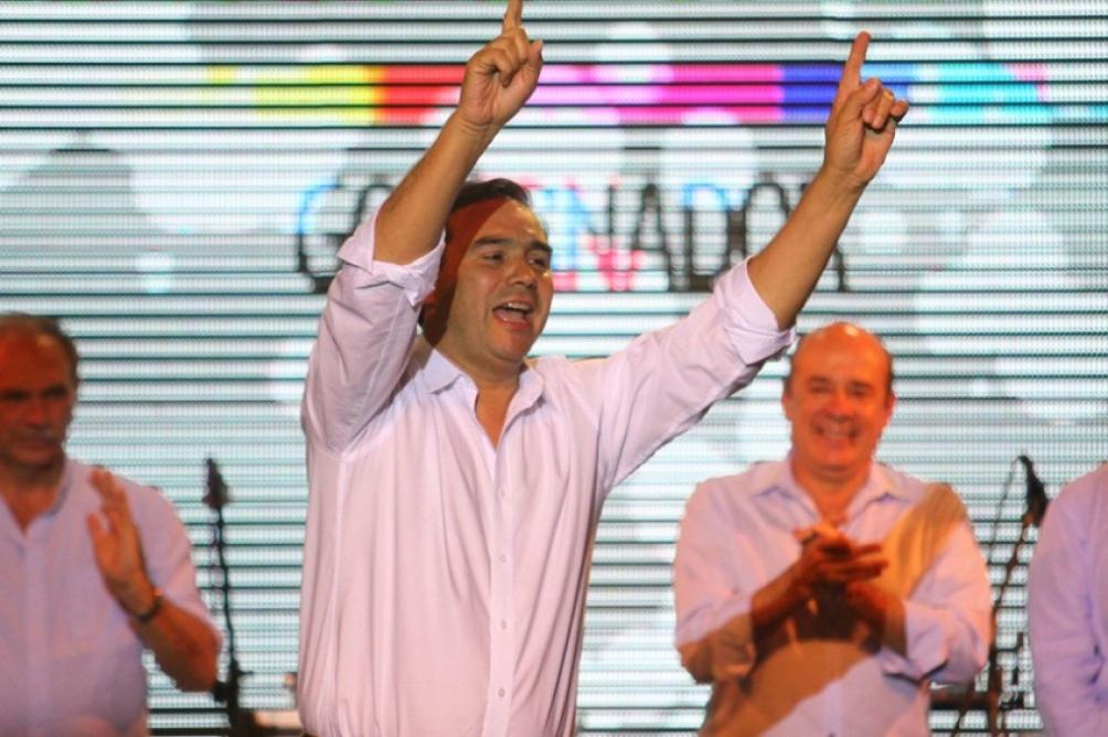 El gobernador Gustavo Valdés va por la reelección.