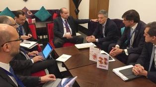 Cabrera se reunió en Marruecos con el canciller brasileño por el acuerdo Mercosur-UE