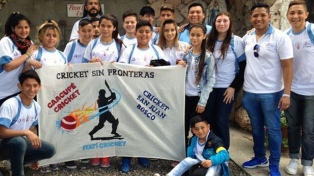 Francisco bendijo a un equipo de cricket integrado por chicos de villas porteñas y bonaerenses