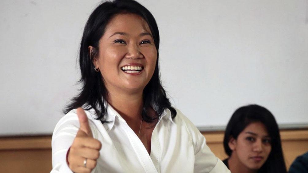 Keiko aspira a ocupar la presidencia que ocupó su padre, Alberto Fujimori, a fines de siglo XX.