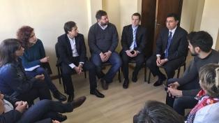El juez del caso Maldonado recibió a la Comisión de Derechos Humanos de Diputados