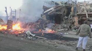 Seis muertos y un alcalde herido en un fallido atentado contra el enviado de la ONU