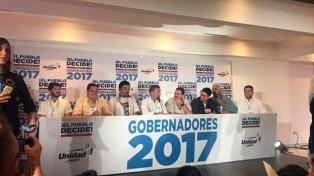Los gobernadores opositores electos juraron ante la Constituyente