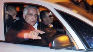 """El  """"Pata"""" Medina está internado por hacer huelga de hambre, dice su abogado"""