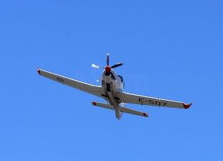 Un avión de entrenamiento Grob 120 TP se estrelló en Córdoba
