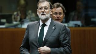 Rajoy incumple la cuarentena en España y la TV lo graba