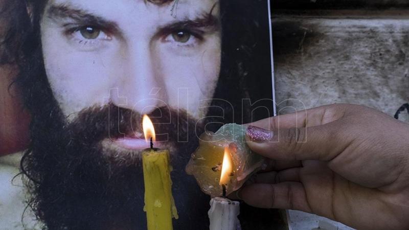 Nuevo reclamo de justicia al cumplirse tres años de la desaparición de Santiago Maldonado - Télam - Agencia Nacional de Noticias