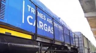 La carga transportada en ferrocarril creció 13,4% en el primer semestre