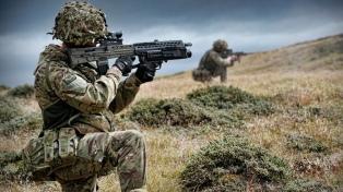 Reclamo argentino al Reino Unido por ejercicios militares en las islas Malvinas