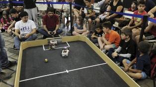 Mendoza fue sede de una competencia nacional de robots