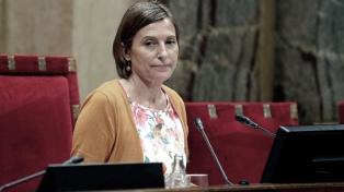 Aceptan la querella por rebelión contra la autoridad del Parlamento catalán