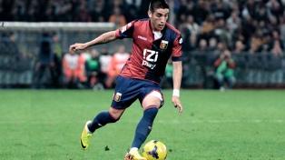 Centurión vuelve a los entrenamientos con el nuevo técnico del Genoa