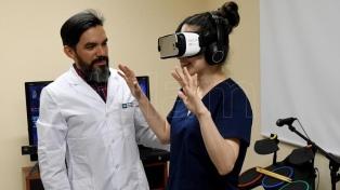 Un laboratorio universitario argentino rehabilita pacientes con videojuegos