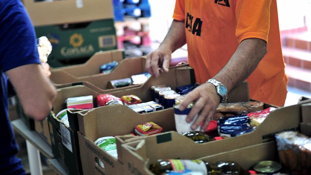 """programa """"Comer en Casa"""" del Plan Social Nutricional Provincial (Plasonup)"""