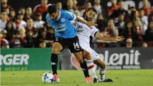 Belgrano pegó sobre el final y le ganó a Newell's